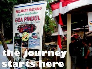Pintu Tiket Masuk Goa Pindul